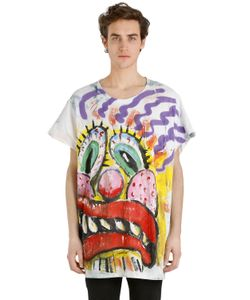 PATRICIA FIELD ART FASHION   Scooter Laforge Hand-Painted T-Shirt