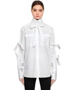 Karl Lagerfeld | Рубашка Karl Из Поплин С Бантом