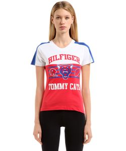 TOMMY HILFIGER COLLECTION | Хлопковая Футболка Hilfiger Tomcats