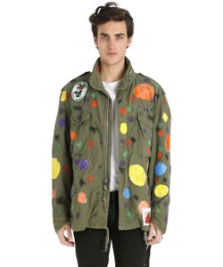 PATRICIA FIELD ART FASHION   Scooter Laforge Hand-Painted Parka