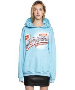 Jeremy Scott | Jeremy Hooded Cotton Jersey Sweatshirt