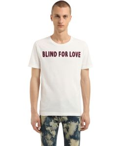Gucci | Футболка Blind For Love Из Хлопкового Джерси