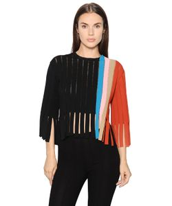 Marco De Vincenzo | Fringed Milano Jersey Top