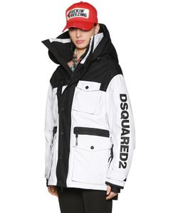 Dsquared2 | Лыжная Куртка Из Нейлона С Капюшоном