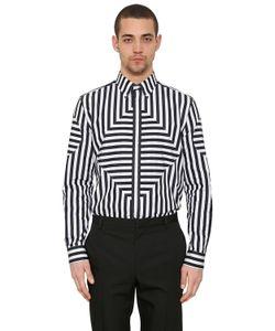 Givenchy | Рубашка Из Поплин В Полоску