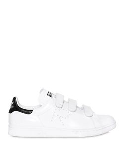 ADIDAS BY RAF SIMONS | Stan Smith Strap Leather Sneakers