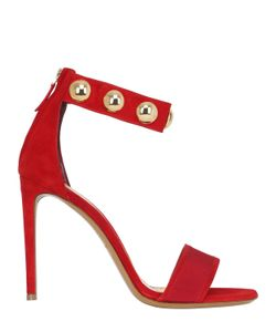 Alexandre Vauthier | 100mm Studded Suede Sandals