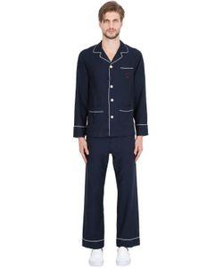 MAISON MARCY | Cotton Cashmere Flannel Pajama Set