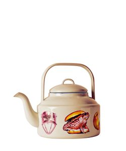 SELETTI WEARS TOILET PAPER | Mix Match Printed Metal Teapot