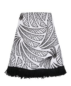 LES OTTOMANS | Jungle Round Cotton Beach Towel