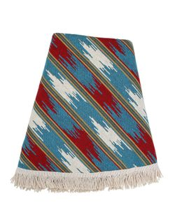 LES OTTOMANS | Ikat Round Cotton Beach Towel