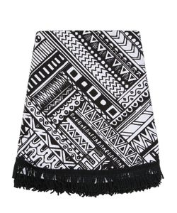 LES OTTOMANS | Aztec Round Cotton Beach Towel