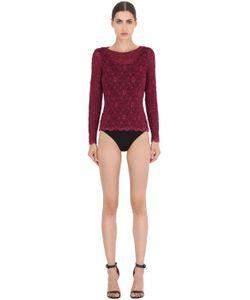 Pierre Mantoux | Lace Overlay Bodysuit