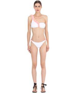 LA REVECHE | Dasha Petal Embellished Lycra Bikini