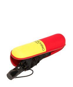 Moschino   Pill Printed Automatic Mini Umbrella