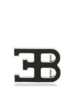 ETTORE BUGATTI COLLECTION | Logo Ostrich Leather Buckle