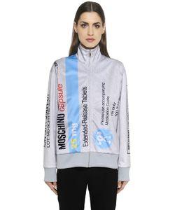 Moschino | Pill Pack Printed Zip-Up Sweatshirt