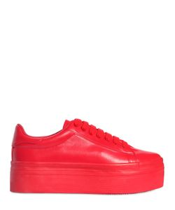JC PLAY | 60mm Stan Faux Leather Platform Sneakers