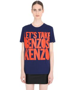 House Of Holland | Хлопковая Футболка Lets Take Benzos Kenzo