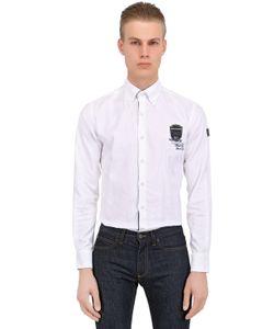 Paul & Shark | Рубашка Из Хлопка С Вышивкой