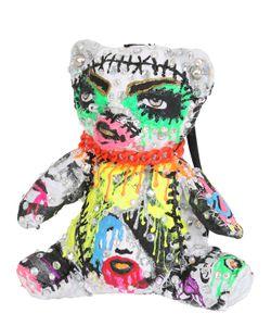 PATRICIA FIELD ART FASHION   Рюкзак Из Хлопка В Форме Медведя Художник Tom Tom