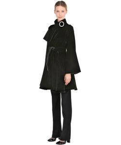 Giorgio Armani | Пальто Из Шёлкового Бархата