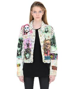 PATRICIA FIELD ART FASHION   Куртка Из Деним Queen Of The Night От Tom Tom