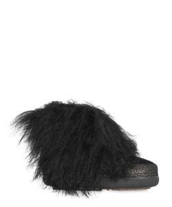 INUIKII | Ботинки Из Кожи И Меха 20mm