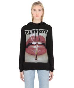 Playboy | Хлопковый Свитшот С Принтом