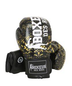 Boxeur Des Rues | Кожаные Боксёрские Перчатки С Питоновым Принтом