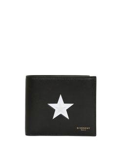 Givenchy | Кожаный Кошелёк С Тиснёной Звездой