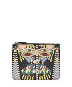 Givenchy | Клатч Из Искусств.Кожи С Принтом Crazy Cleopatra