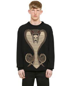 Givenchy | Свитер Cobra Из Хлопкового Трикотажа И Жаккарда