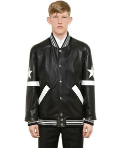 Givenchy | Куртка-Бомбер Из Кожи Наппа
