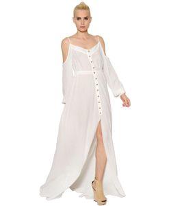 Balmain | Платье Из Хлопковой Вуали
