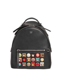 Fendi | Кожаный Рюкзак С Заклёпками