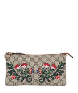 Gucci | Клатч С Цветочной Вышивкой