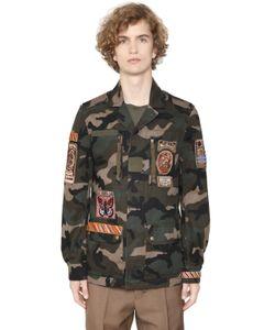 Valentino | Хлопковая Куртка С Нашивками