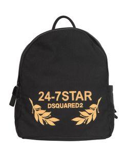 Dsquared2 | Рюкзак Из Канвас С Вышивкой Логотипа