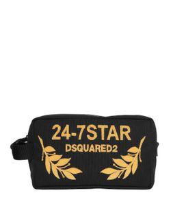 Dsquared2 | Несессер Из Канвас С Вышивкой Логотипа