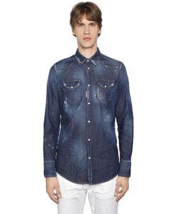 Dsquared2 | Рубашка Из Деним В Ковбойском Стиле