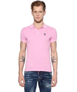Dsquared2 | Рубашка-Поло Из Хлопка Пике