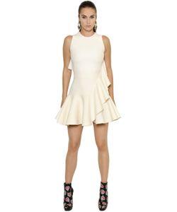 Alexander McQueen | Платье Из Шерсти Шёлка И Скуба