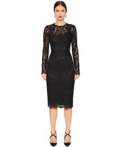Dolce & Gabbana | Платье С Кружевом Cordonetto