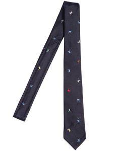 Thom Browne | Галстук Из Шёлкового Жаккарда 55cm