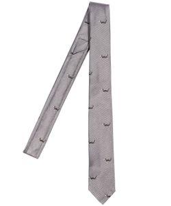 Thom Browne | Галстук Из Шёлкового Жаккада 55cm