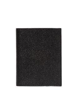 Thom Browne | Чехол Для Паспорта Из Шагреневой Кожи