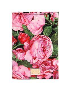 Dolce & Gabbana | Кожаный Чехол Для Паспорта С Цветочным Принтом
