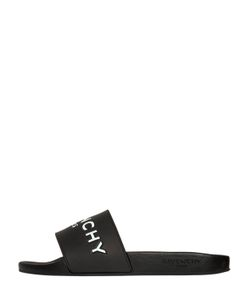 Givenchy | Сланцы Из Резины С Тиснёным Логотипом