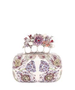 Alexander McQueen | Клатч С Цветочной Вышивкой
